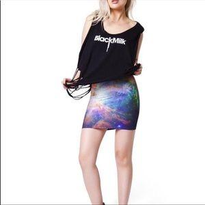 Blackmilk Galaxy Skirt